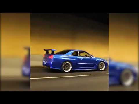R34 Skyline Burnouts, Antilag, Boost And More!!!