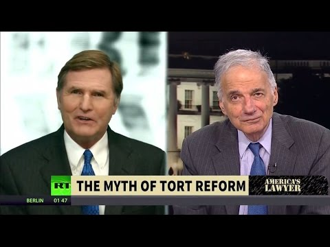 America's Lawyer [04]: Ralph Nader Exposes the Corporate Lies Behind Tort Reform