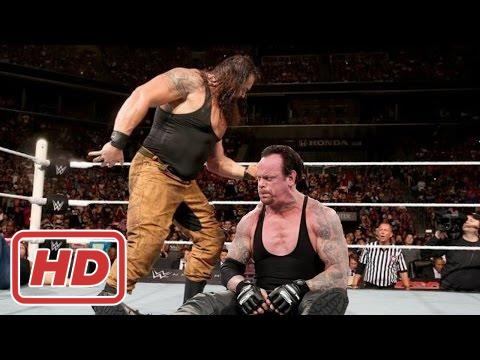 WWE 03/25/2017 The Undertaker vs Braun...