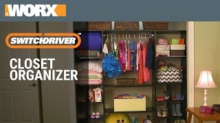 Switchdriver | Build a Closet Organizer