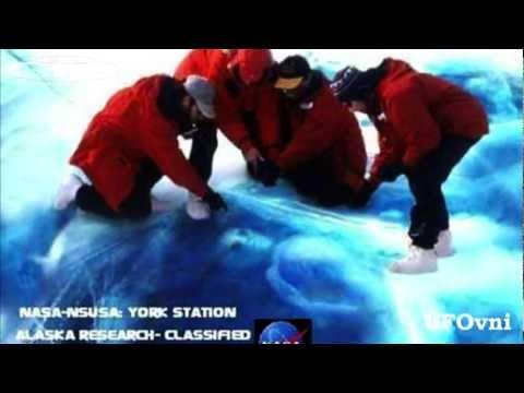 Alien frozen in Ice, Alaska, NASA research.mp4