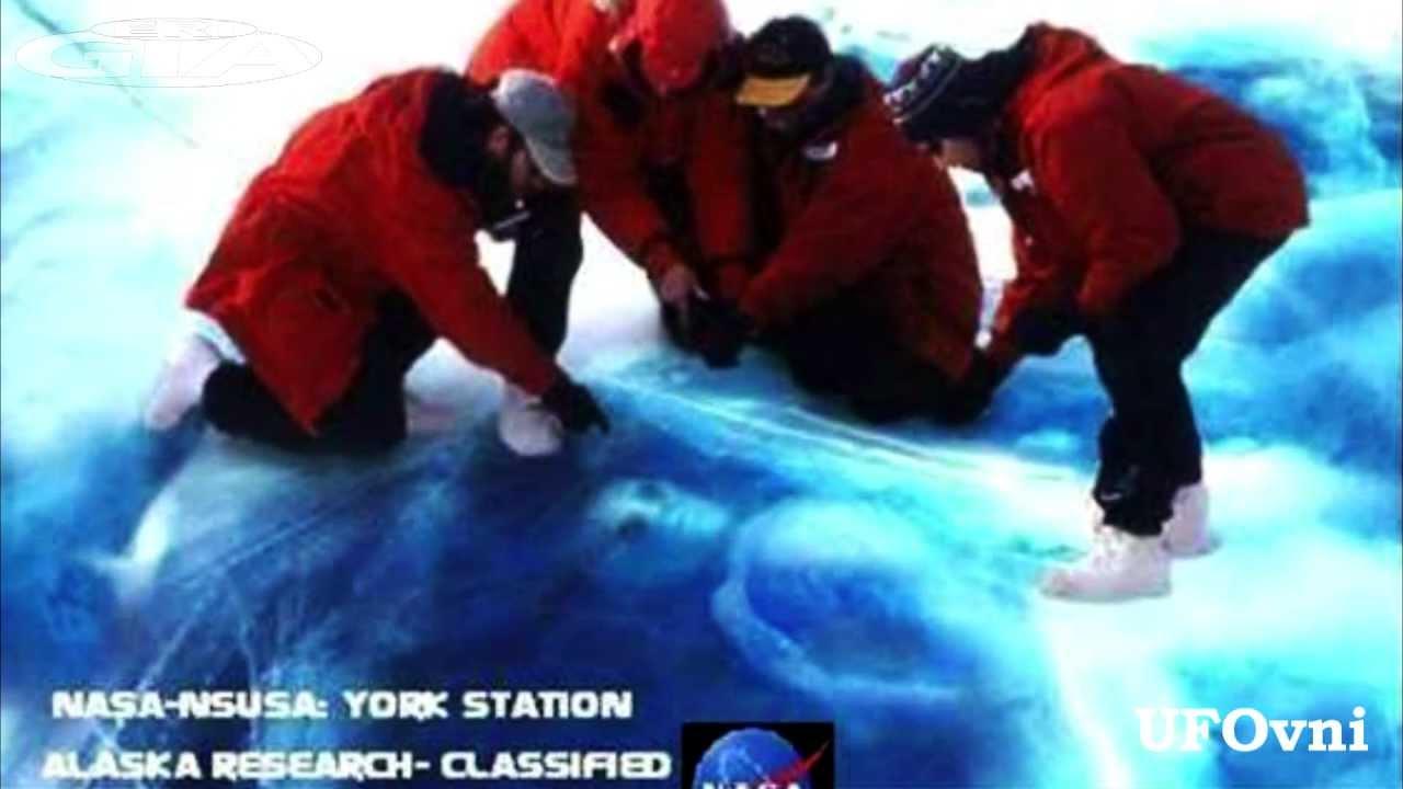 Alien frozen in Ice, Alaska, NASA research.mp4 - YouTube
