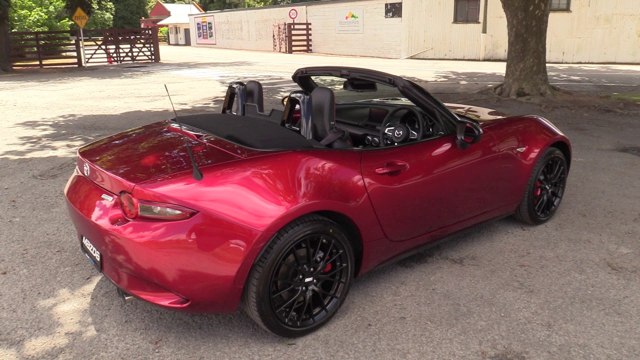New 2018 Mazda Mx 5 Gt Special Edition Roadster Blackwells Mazda