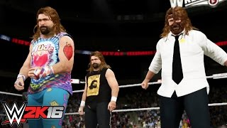 Believe in The Three Faces of Foley: WWE 2K16 Entrance Mashups