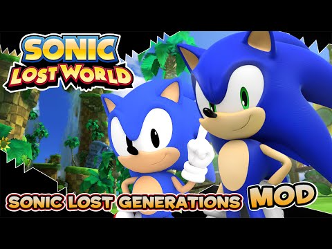 Sonic Lost World (PC) Sonic Lost Generations Mod [1080p 60fps]  