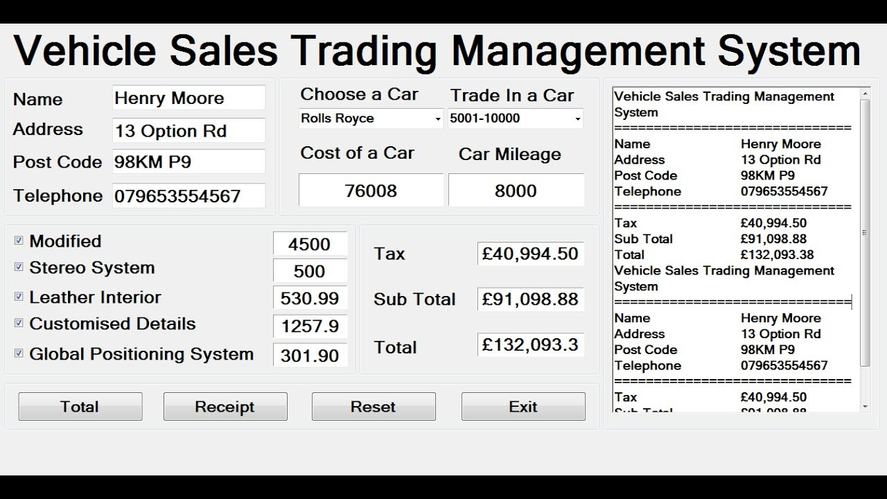 Online Share Trading System Project Documentation - Tags