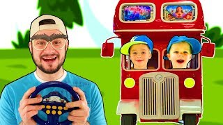 Wheels on the Bus Song #2 | Mirik Yarik Nursery Rhymes & Kids Songs