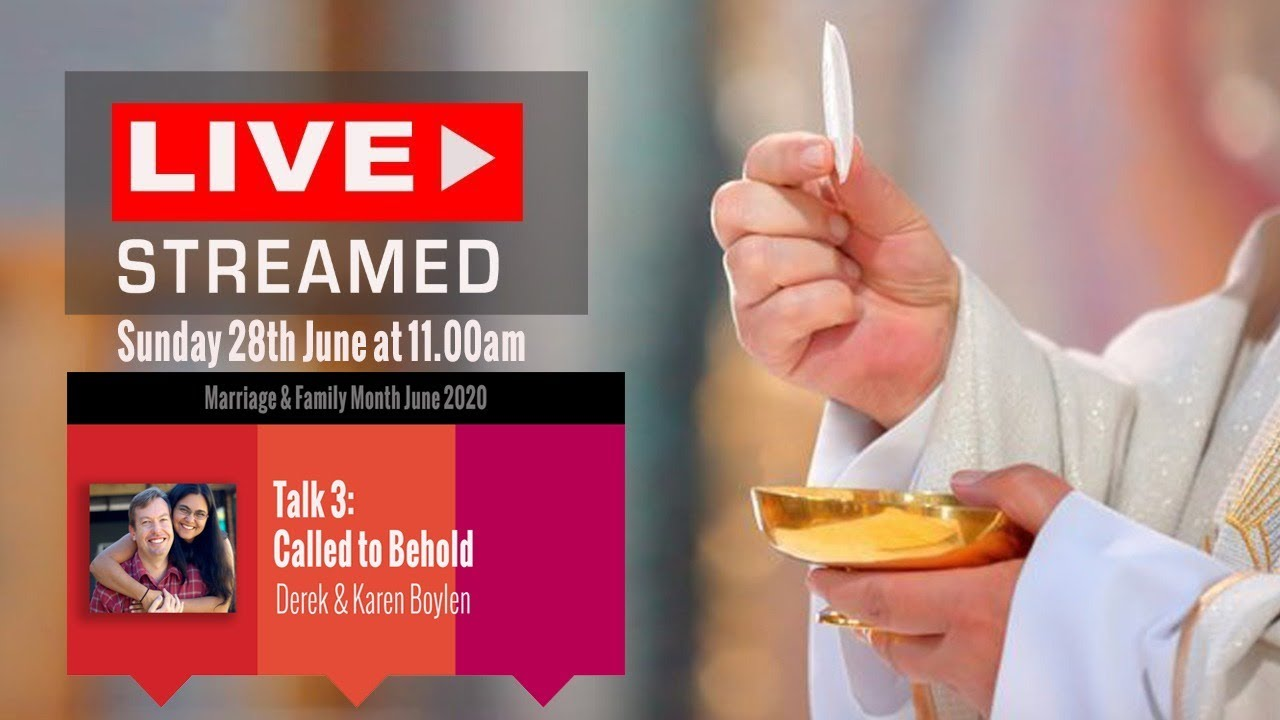 Live Streamed Mass: Sunday 28 June at 11.00am