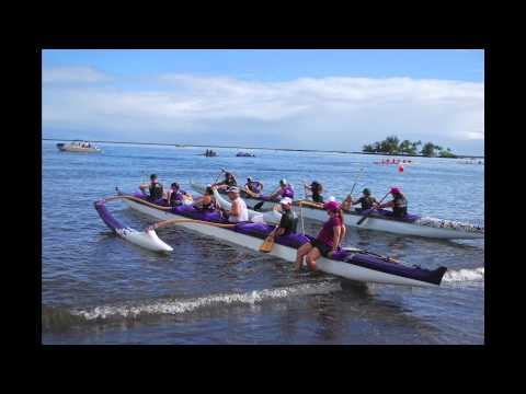 Hawaii's Hilo Bay Outrigger Canoe Races 2012 by Aloha Joe