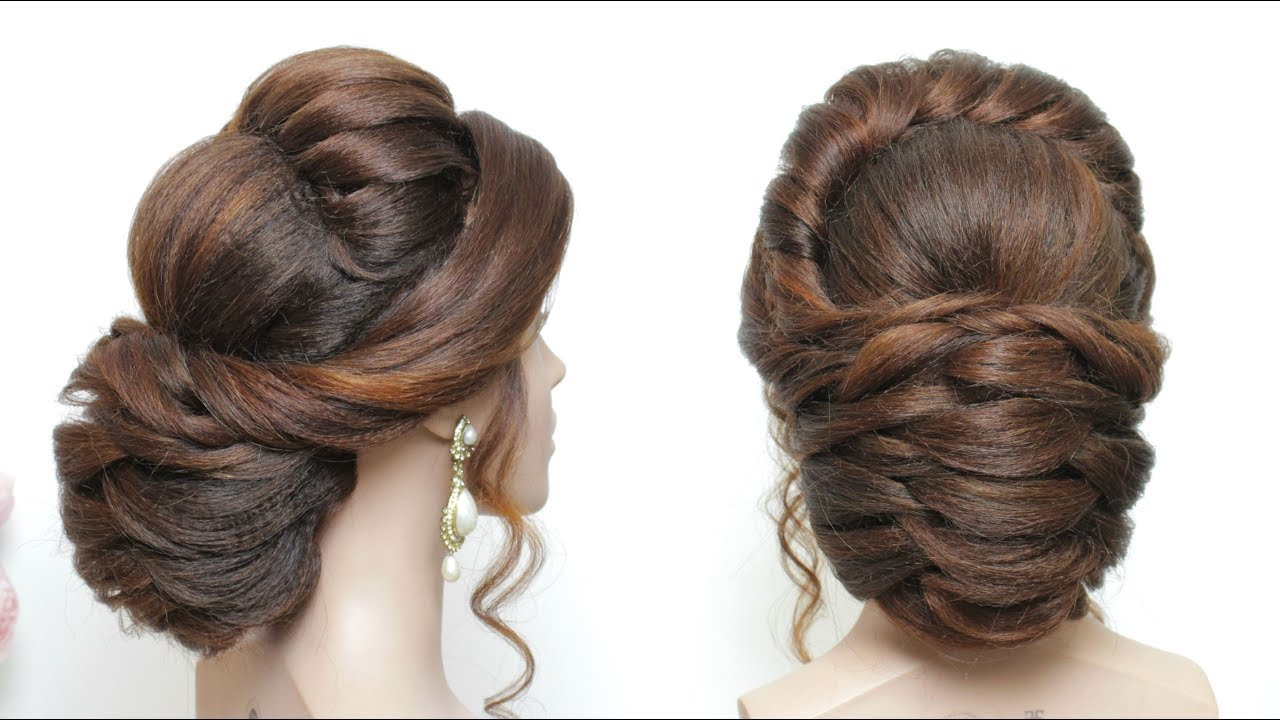 New Bridal Hairstyle Tutorial For Long Hair Wedding Updo