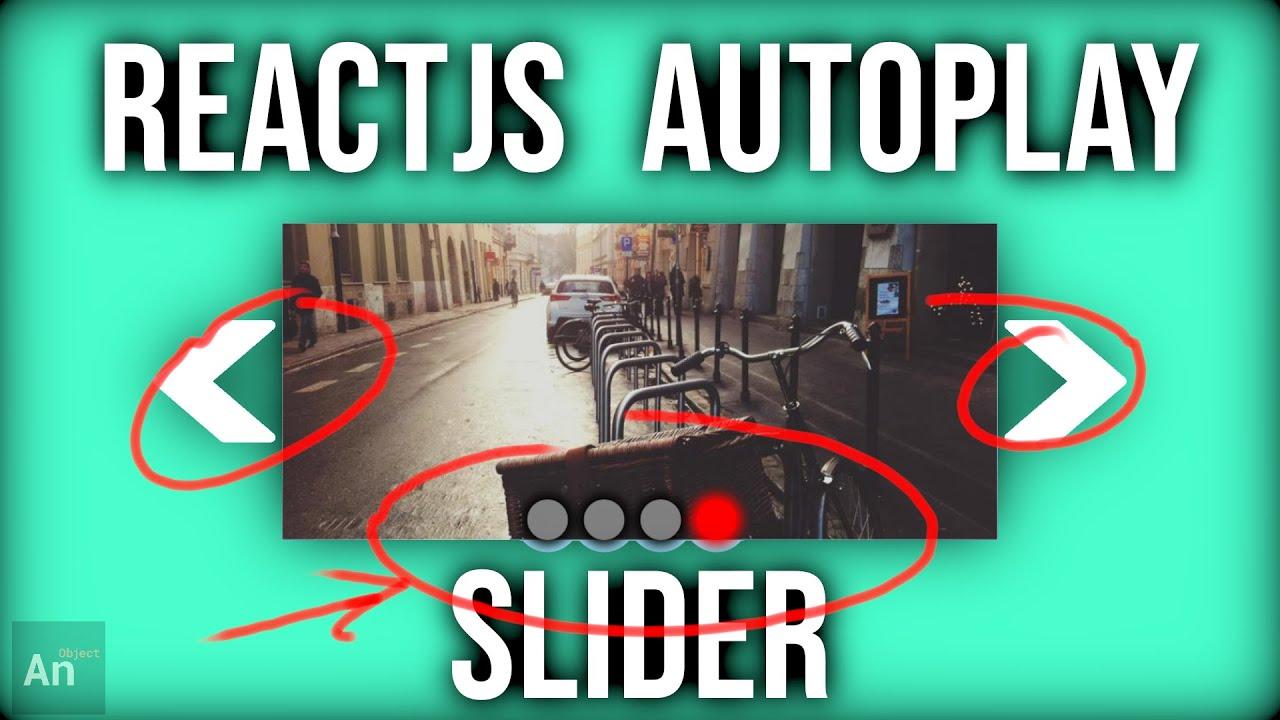 React JS Slideshow | Responsive, Autoplay with Manual Navigation Buttons