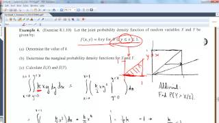 MA 381: Section 8.1: Joint Probability Density Functions