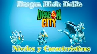 Dragon Hielo Doble De Dragon City