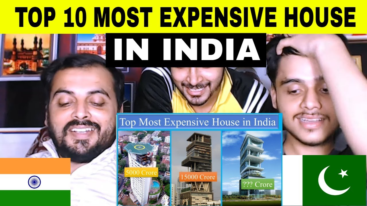 Pakistani Reaction On | Top 10 Most Expensive House in India | Ultra Luxury Buildings in India