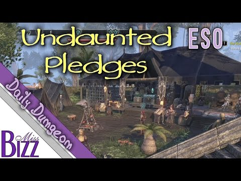 ESO Undaunted Pledges Guide - Elder Scrolls Online Daily Dungeon Quest - Pledges in One Tamriel