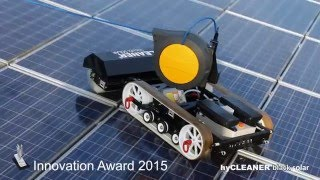 Solar panel cleaning with hyCLEANER® black SOLAR