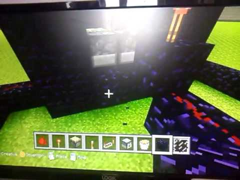 how to make a working tv in minecraft xbox 360