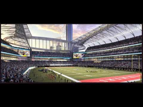 The Future  Super Bowl sites for the NFL Stadiums