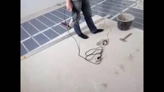 видео Укладка плитки с уклоном под слив