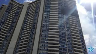 Fire at Marco Polo condominium