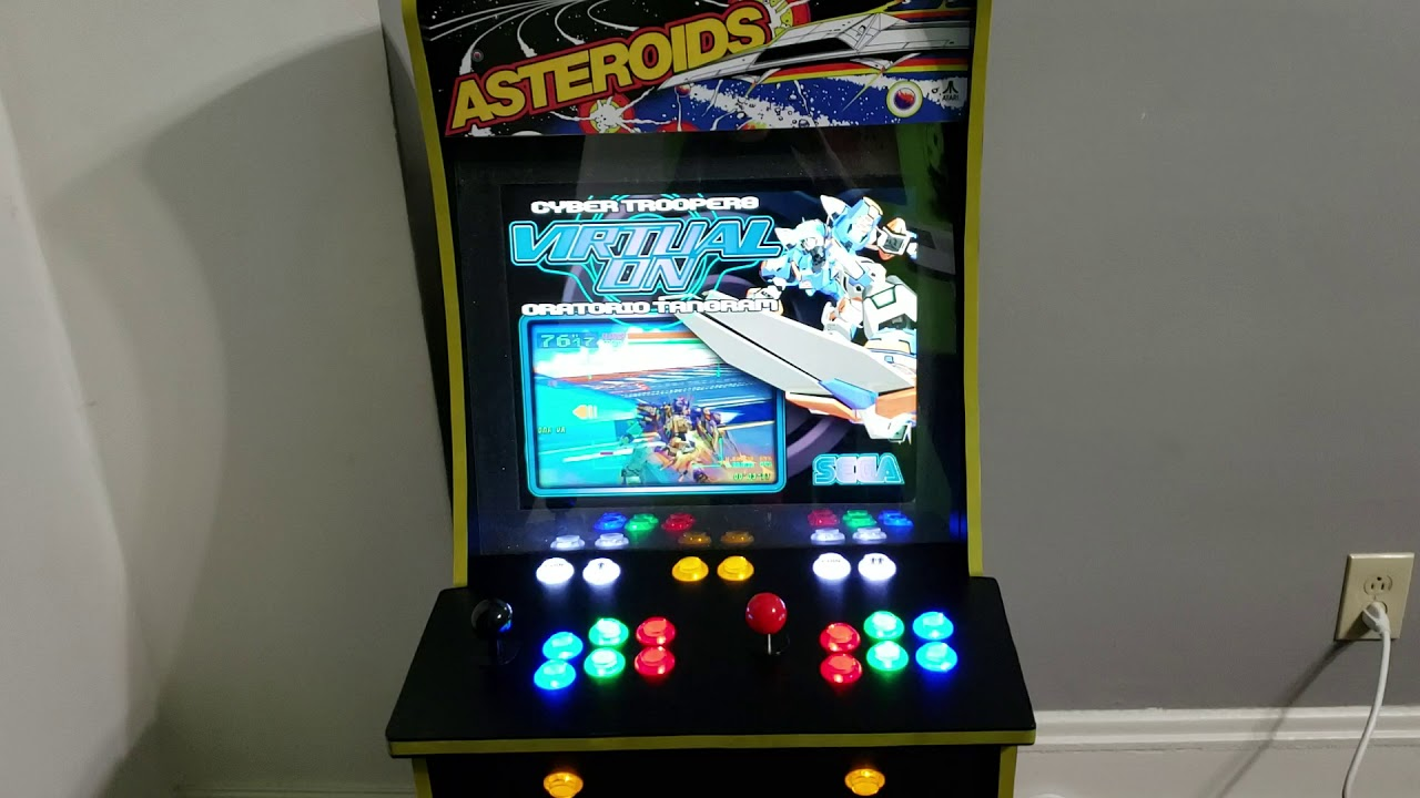 Arcade1up Asteroids Modified with 19