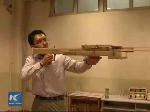 Chinese teacher replicates 1,800-year-old crossbow