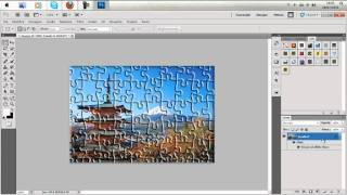 Tutorial Photoshop-effetto puzzle