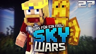 DAS WAR RICHTIG SCHLECHT VON MIR :D ★ Minecraft PvP - Skywars [27]