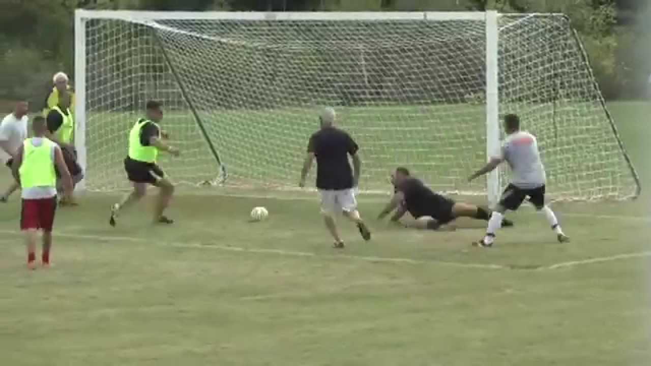 NCCS Men's Alumni Soccer  8-29-15