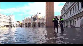 Venezia, la diretta da piazza San Marco: attesa una nuova marea
