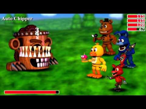 GameJolt (FNaF World DEMO)