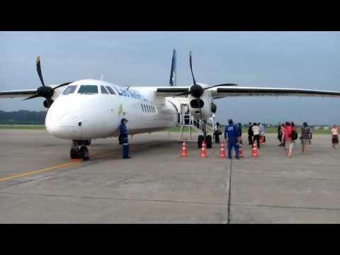 Wattay Airport - Flight to Luang Prabang, Laos