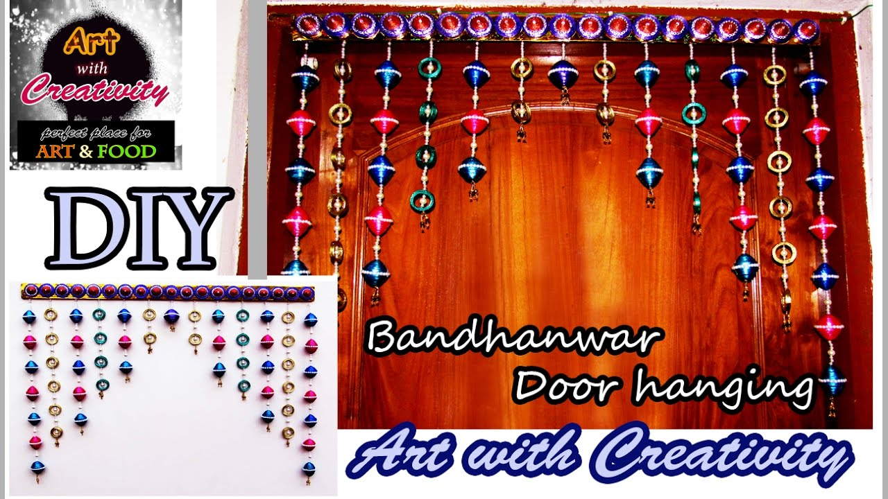 Wall Hanging newspaper wall hanging | bandhanwar | door hanging | toran | art