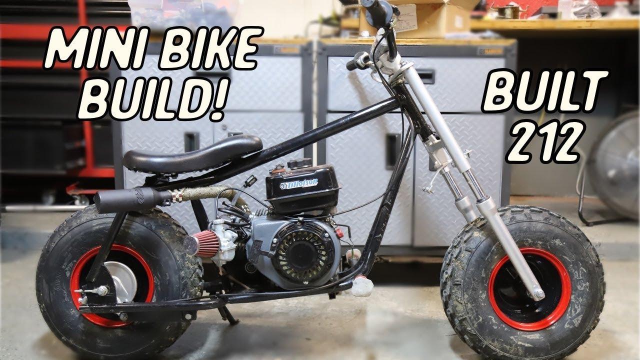 Off-Road Mini Bike Build Part 1 | Stage 2 Predator 212 ...