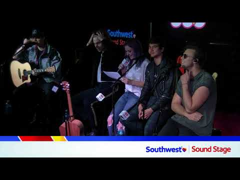 : 5SOS Interview in our iHeartRadio Southwest Sound Stage