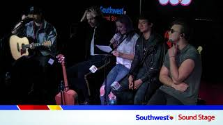 LIVE: 5SOS Interview in our iHeartRadio Southwest Sound Stage