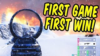 First game, first win! - Battlefield Firestorm Battle Royale gameplay thumbnail