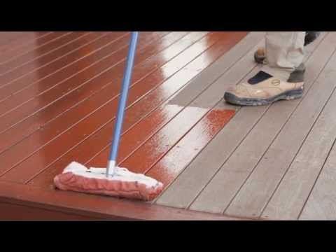 How To Stain A Deck You