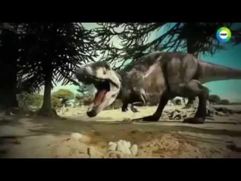 Обнаружены следы человека со следами динозавра