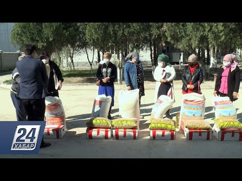Біз біргеміз: Түркістан облысының кәсіпкерлері мұқтаж жандарды азық-түлікпен қамтыды