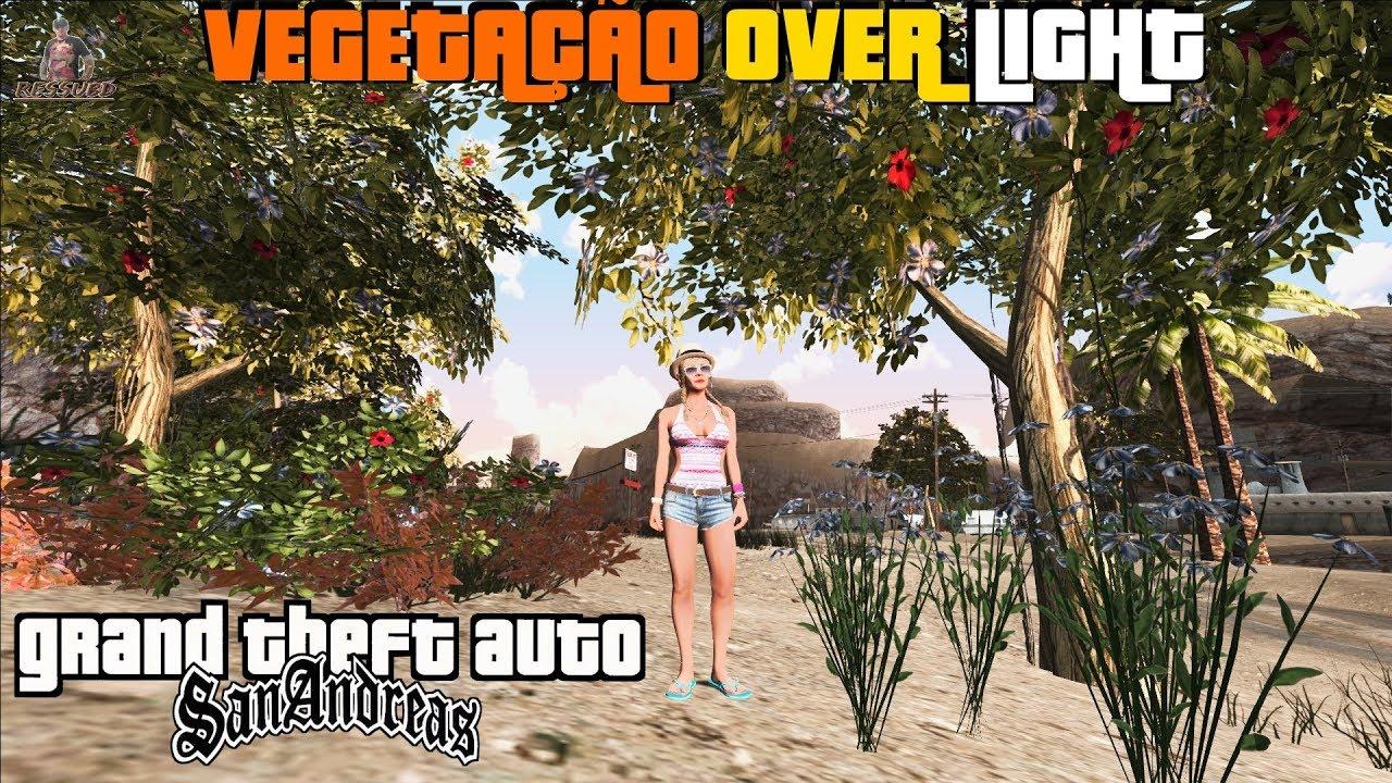 GTA Nova Vegetação Overhaul