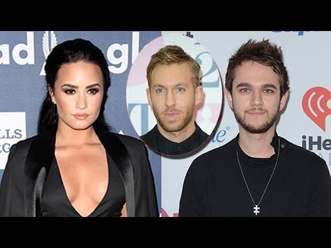 Demi Lovato & Zedd Choosing Sides In The Taylor Swift/Calvin Harris Feud?