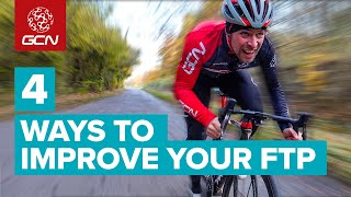 4 Ways To Impŗove Your FTP   Cycling Workouts To Raise Your Functional Threshold Power