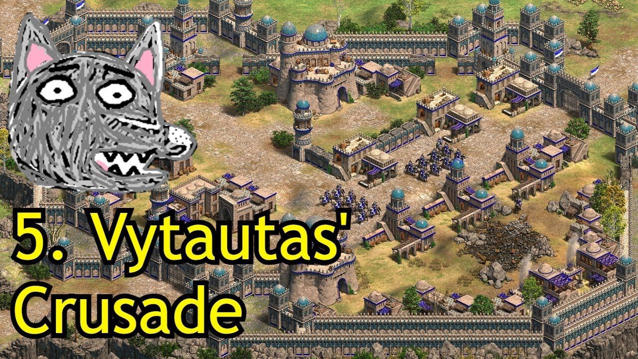 Download AoE2: DE Dawn of the Dukes   Jadwiga   5. Vytautas' Crusade