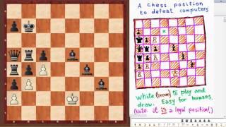 Шахматная задача для выявления гениев! Задачка Пенроуза взорвавшая интернет
