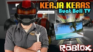 ROBLOX Indonesia | Hard work of the bones for a TV!! 👔💼