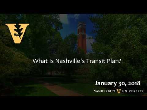 What is Nashville's Transit Plan?