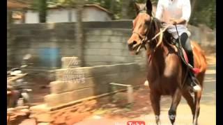 Horse  lover Rejan  |കുതിരകളെ ഓമനിച്ച് രജന്