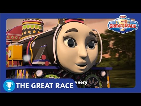 Six Small Wheels | The Great Race Karaoke! | Thomas & Friends