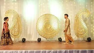 Indian Bride and Groom dance